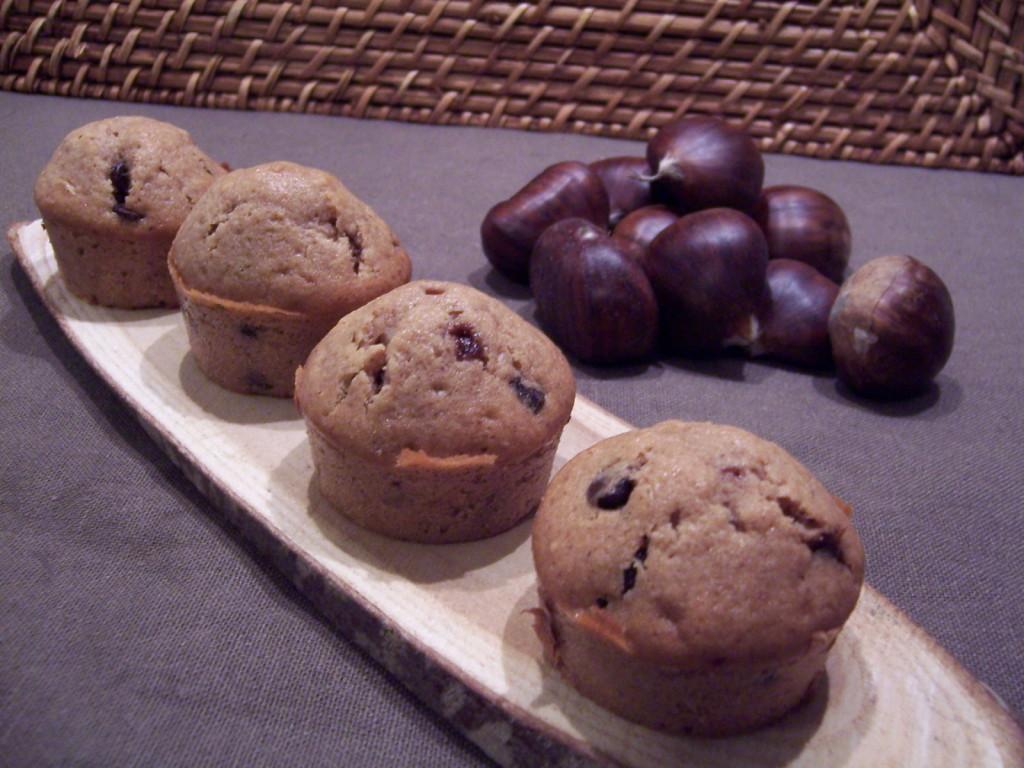 muffins chataigne