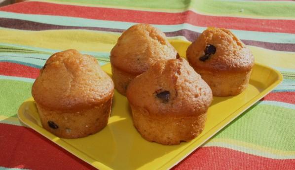 muffins choco-orange confite
