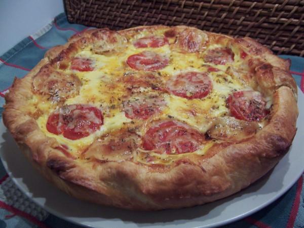 quiche tomate - jambon