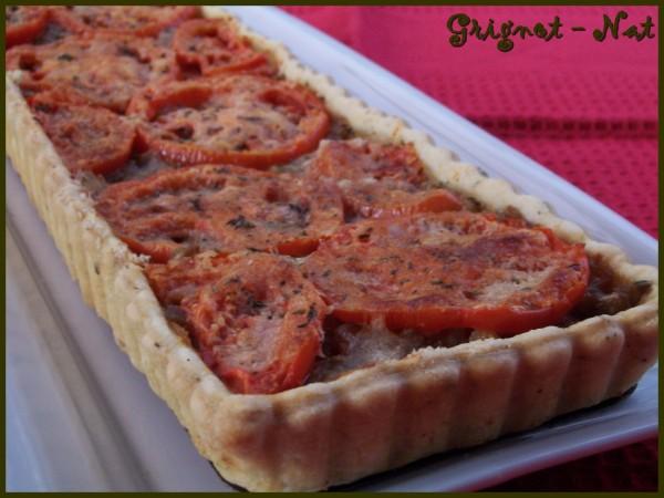 tarte aubergines et tomates 2