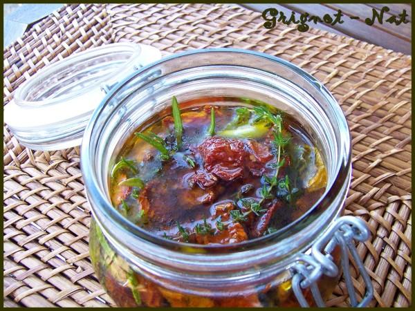Tomates confites à l'huile d'olive 2