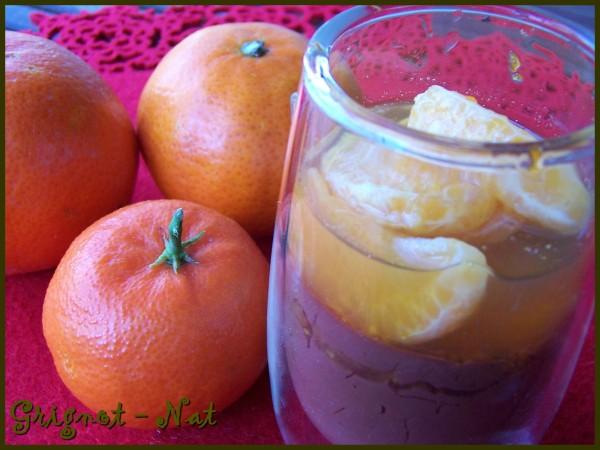 verrines chocolat et clémentines 2