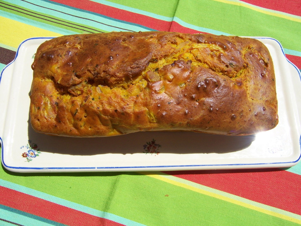 cake poulet - curcuma