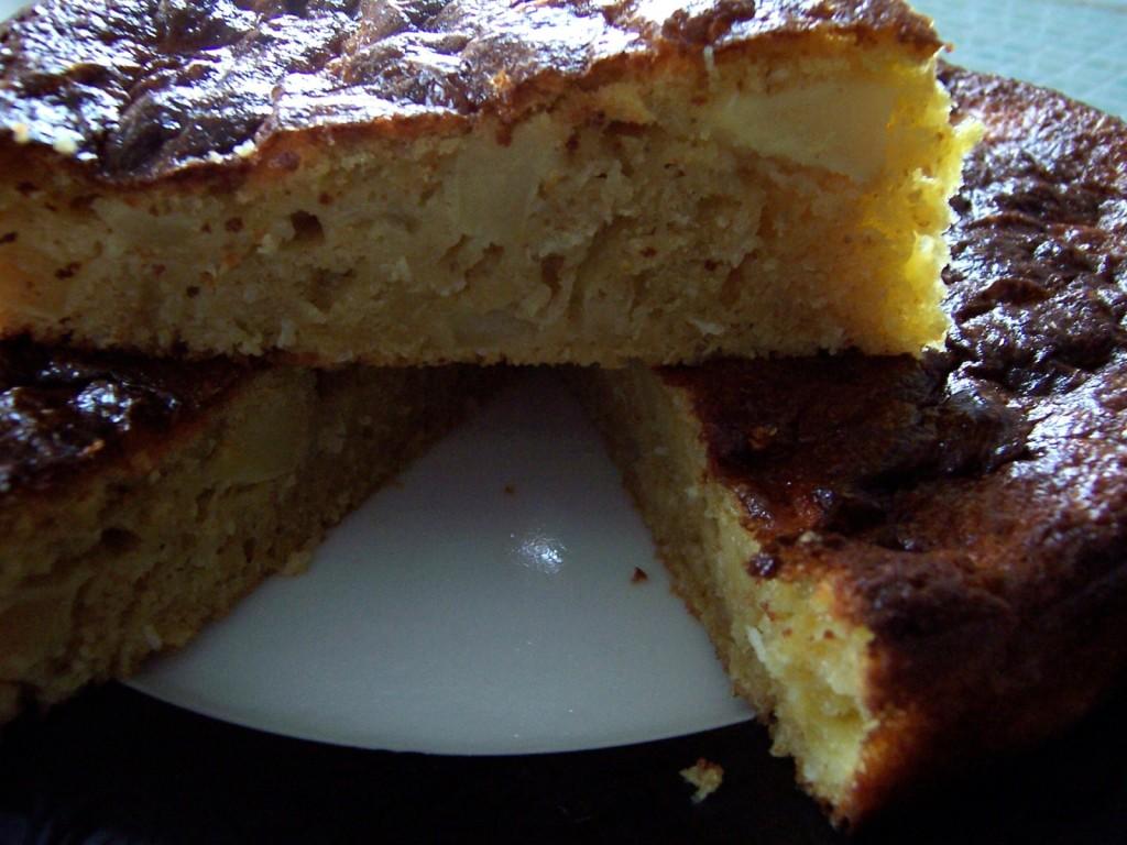 gâteau pomme-coco 2