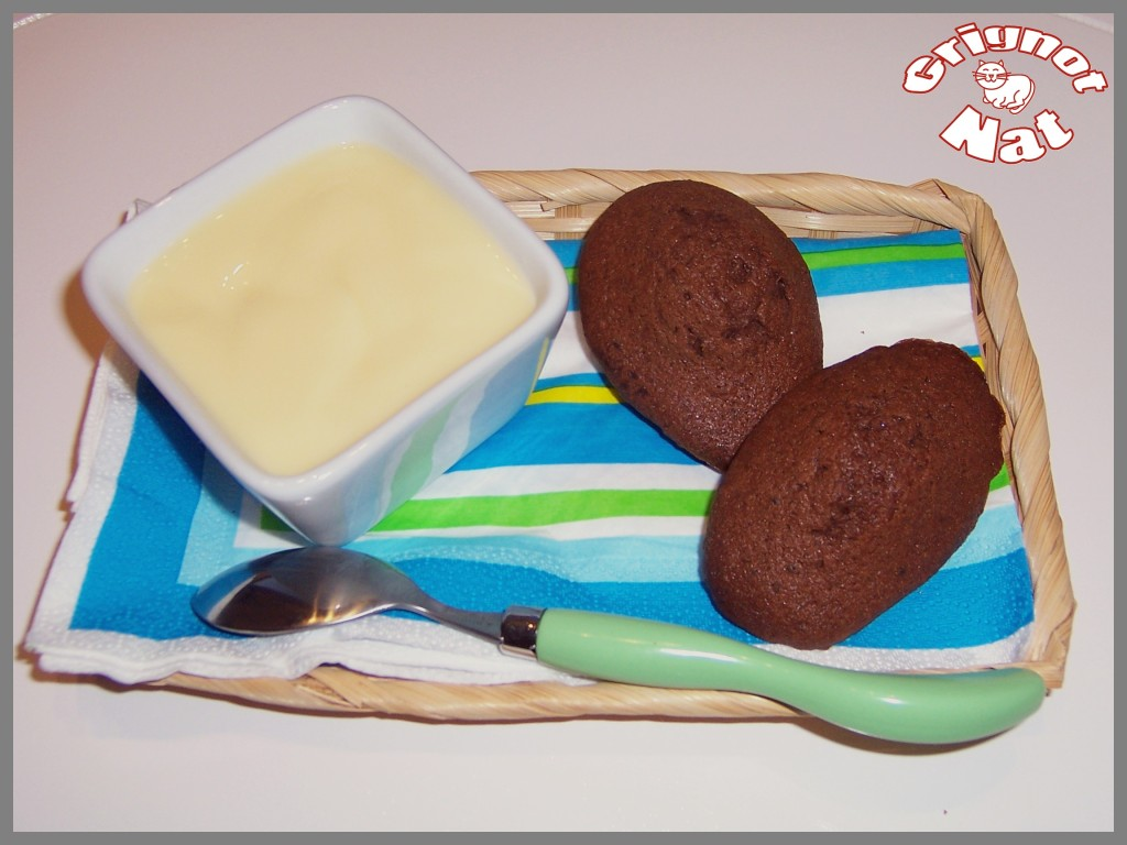 madeleines au chocolat 2