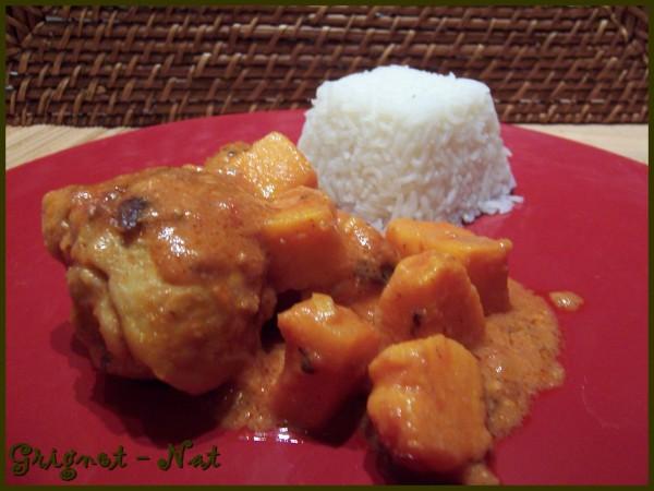 Mafé de poulet aux patates douces 3