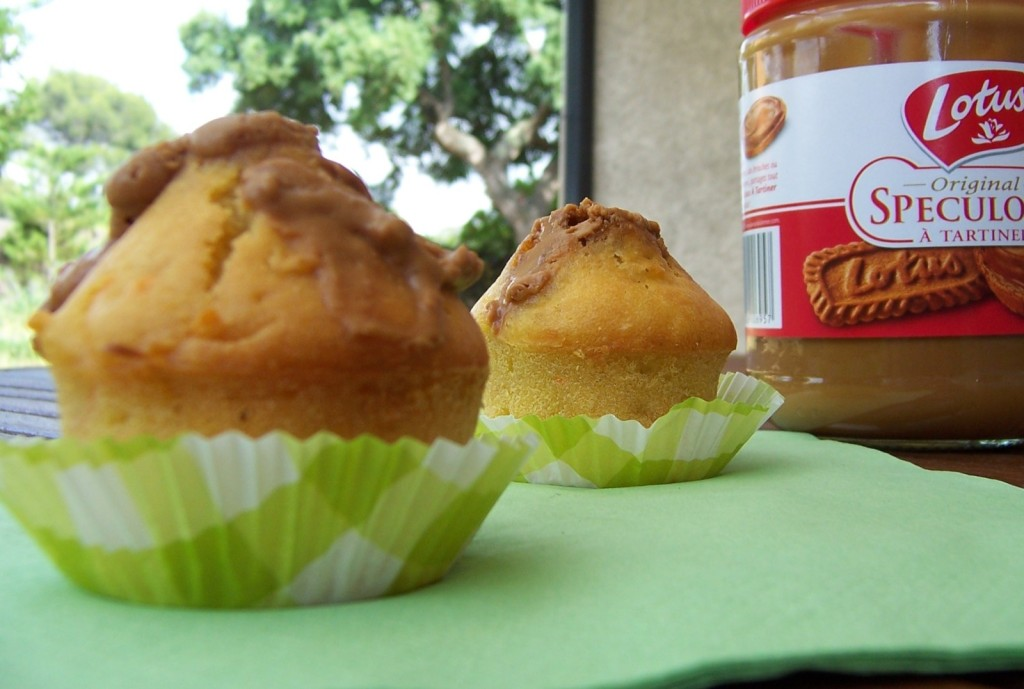 muffins pomme - speculoos