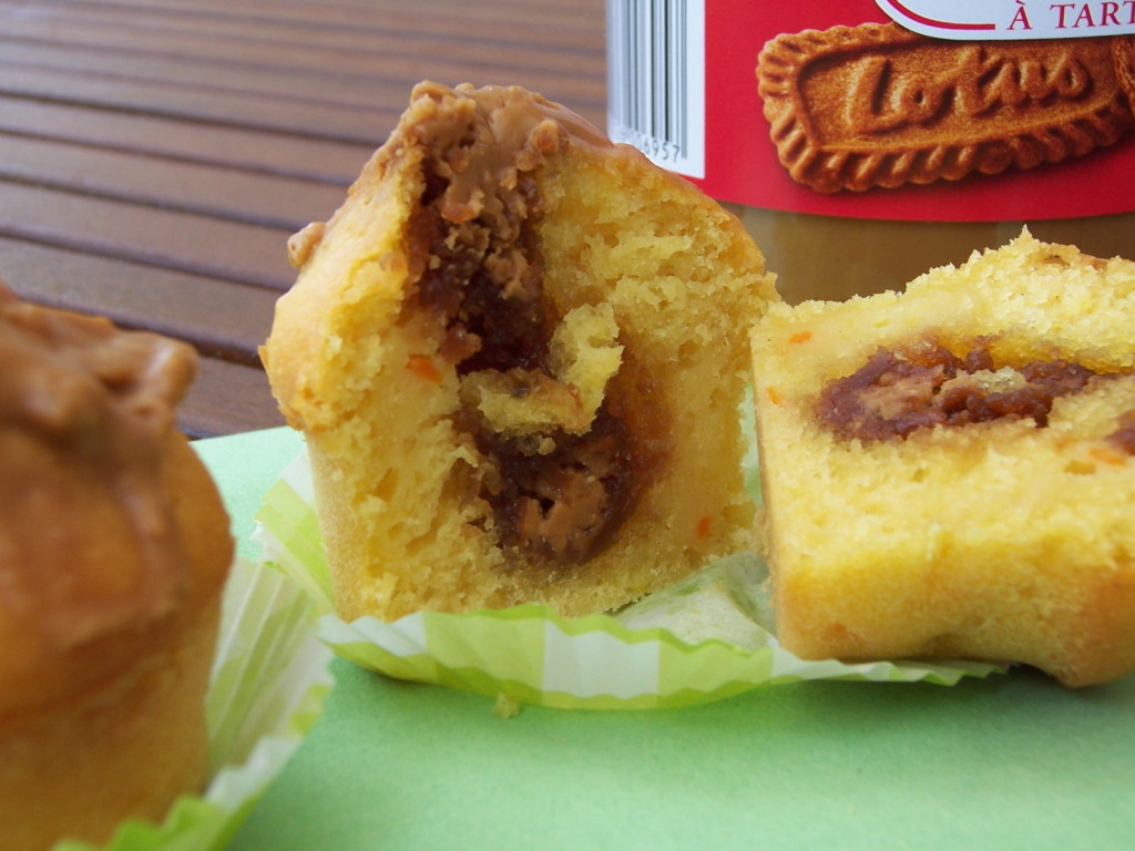 muffins pomme - speculoos 2
