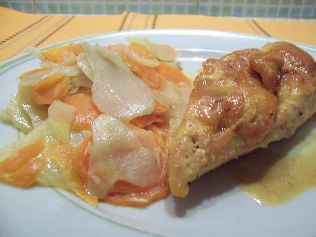 poulet curcuma