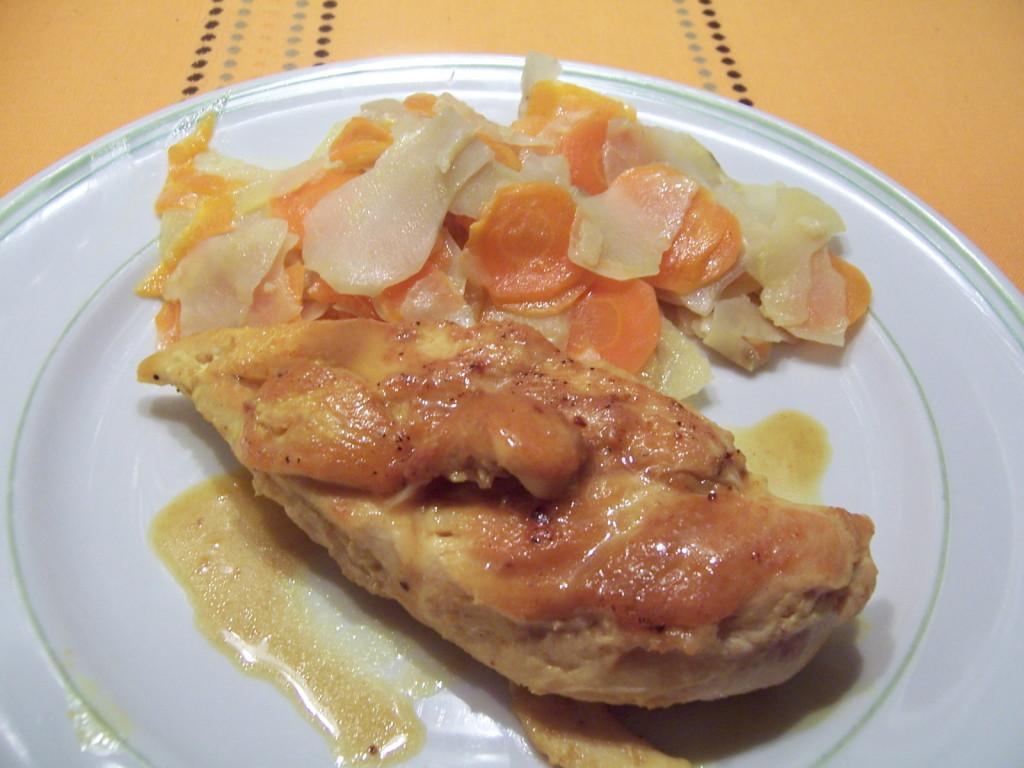 poulet curcuma 2