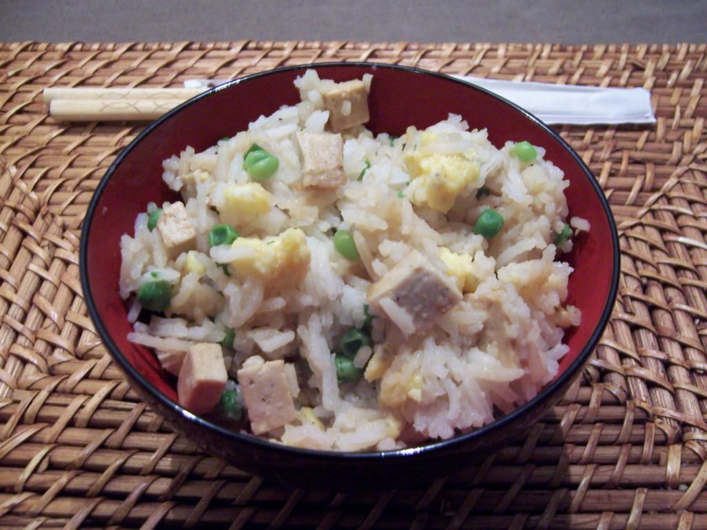 riz cantonnais tofu
