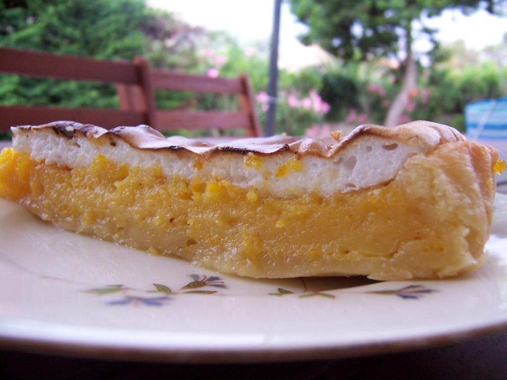 Tarte citron et orange meringuée 2