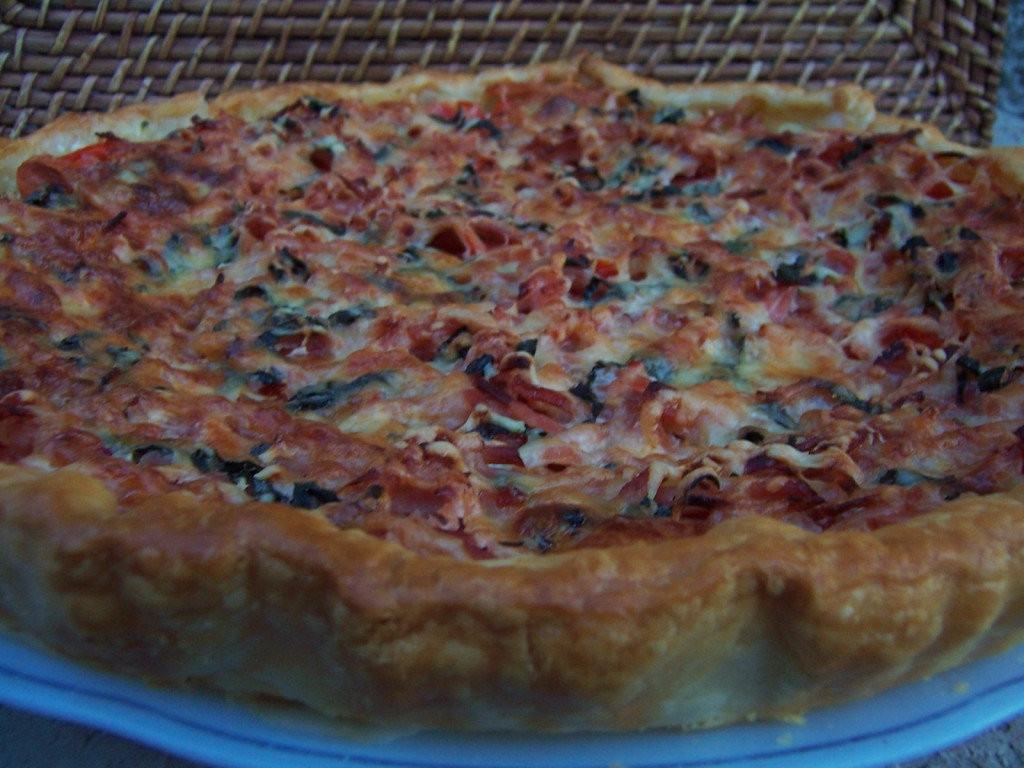 tarte tomates - courgettes