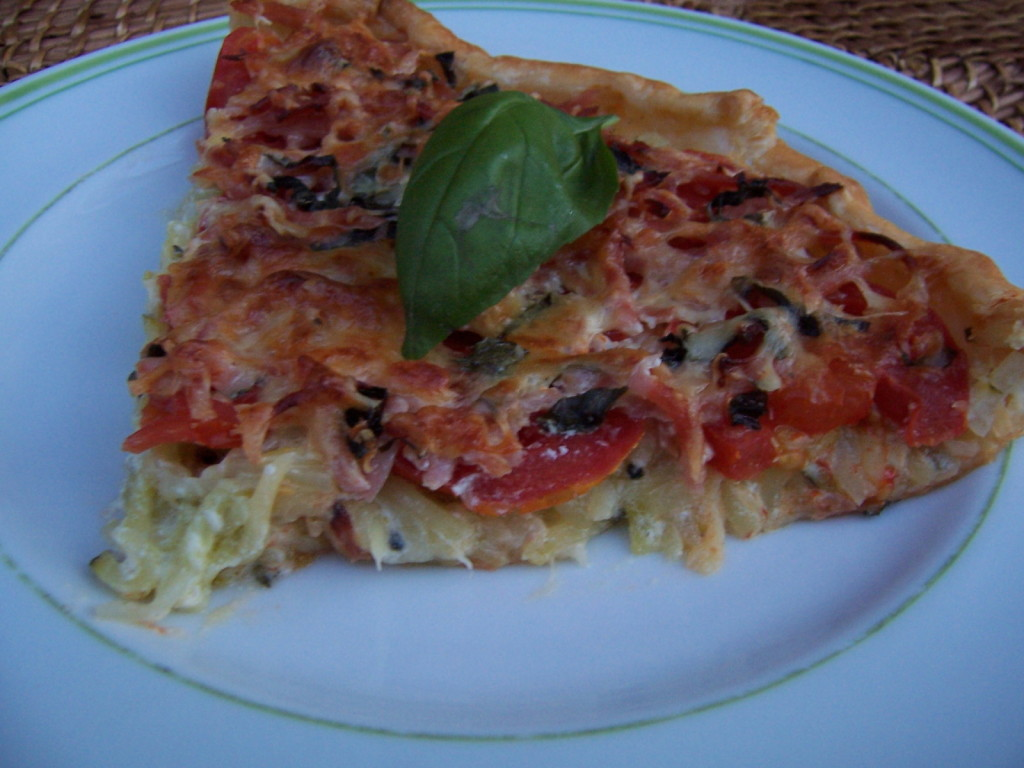 tarte tomates - courgettes 2