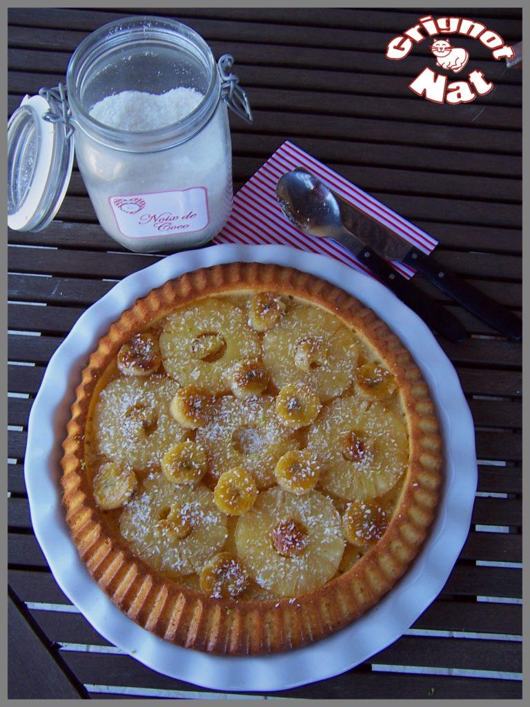 gâteau coco - ananas
