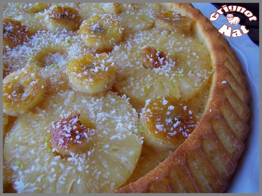 gâteau coco - ananas2