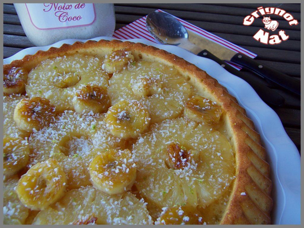 gâteau coco - ananas3