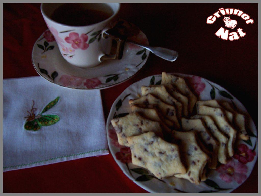 Frollini à la vanille et aux copeaux de chocolat 3