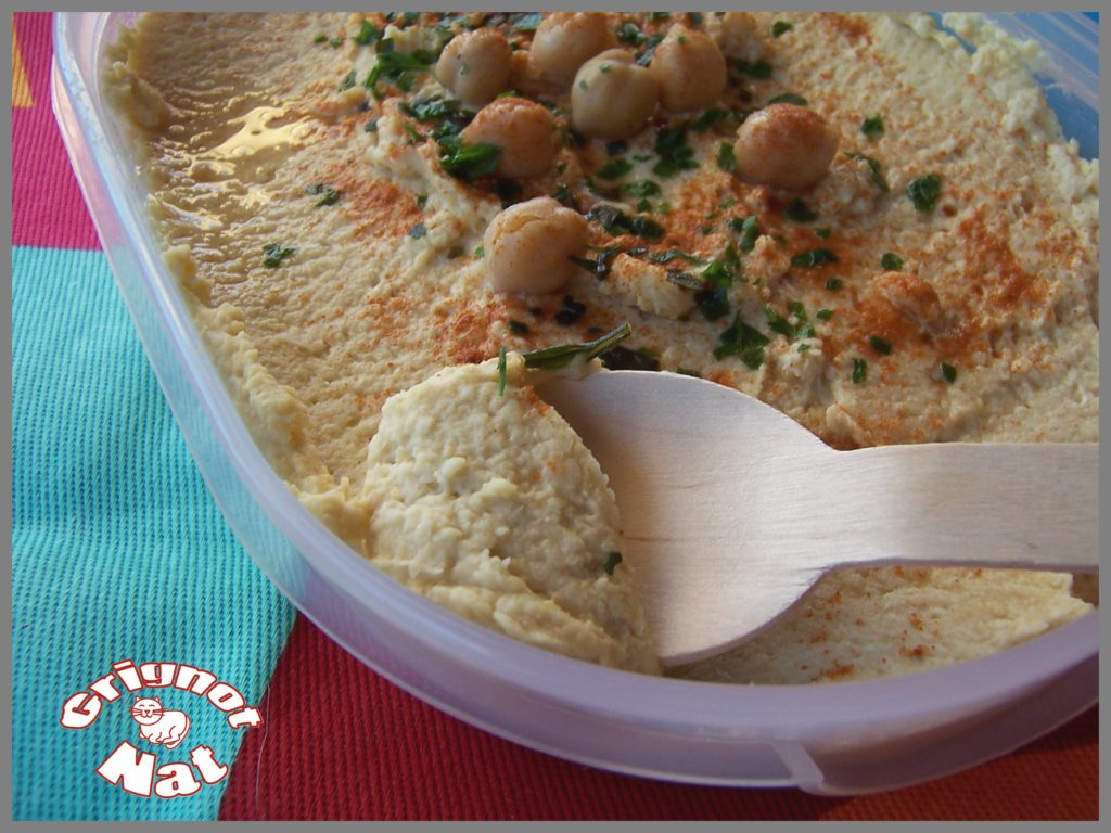 Houmous (mezzé libanais) 2