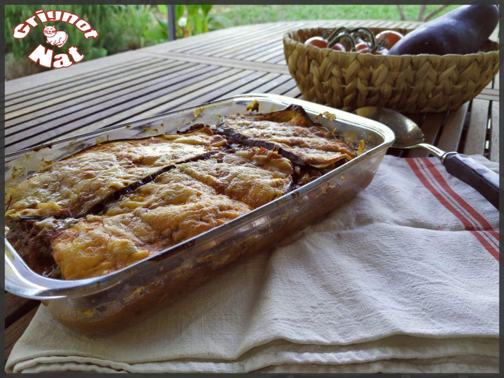 Lasagne d'aubergines 2