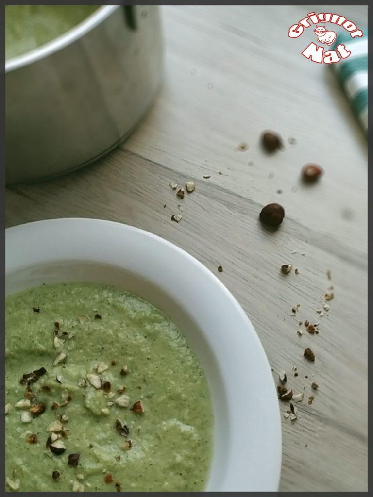 velouté de brocolis aux noisettes 2