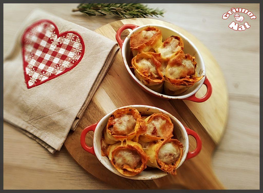 Lasagnes roulées à la viande hachée 2