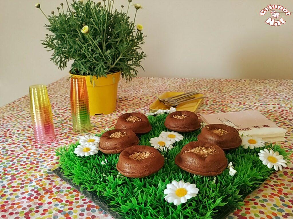 mini moelleux chocolat et caramel 2