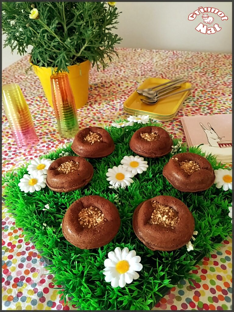 mini moelleux chocolat et caramel 3