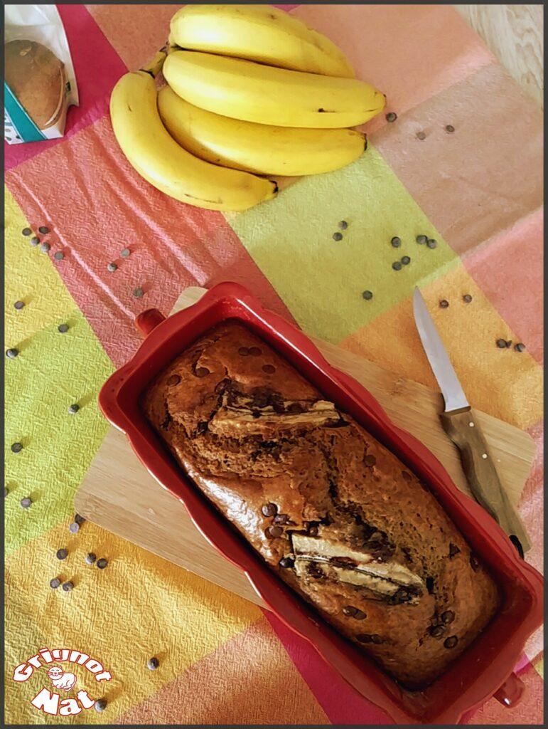 Banana bread super moelleux