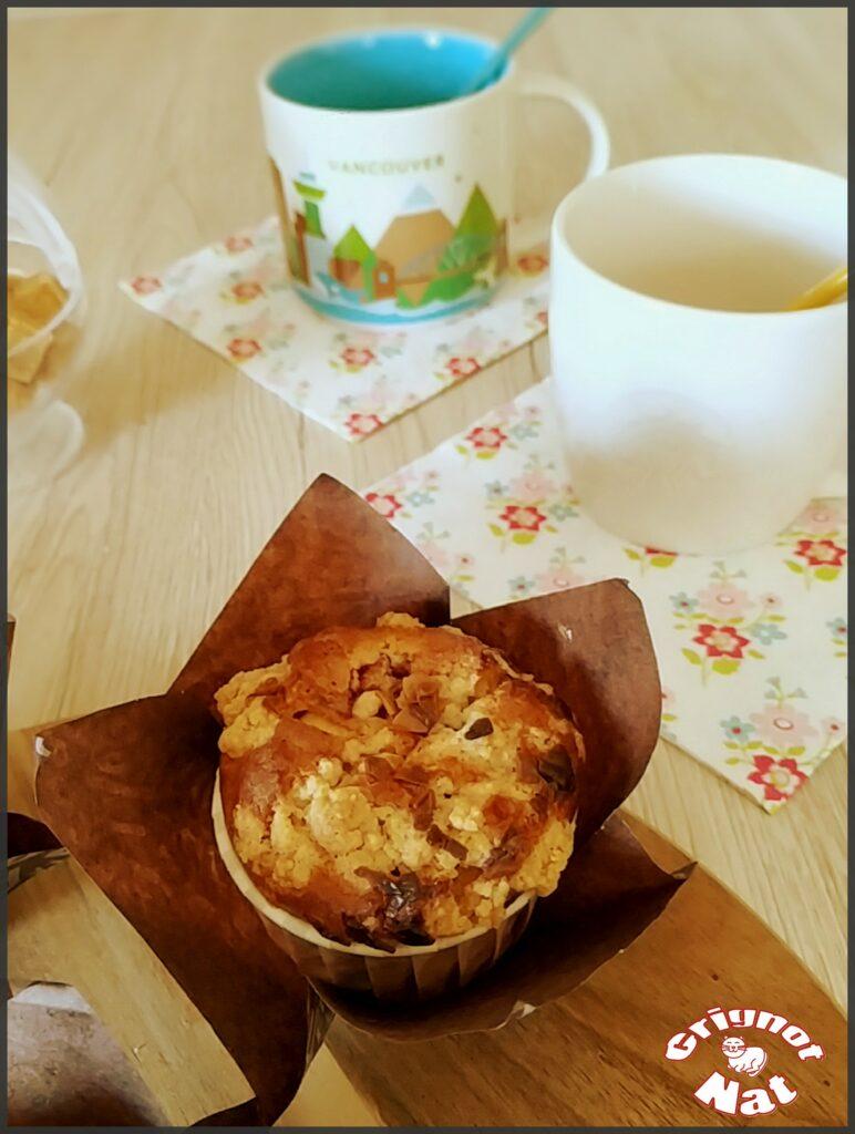 muffins framboises et crumble 3