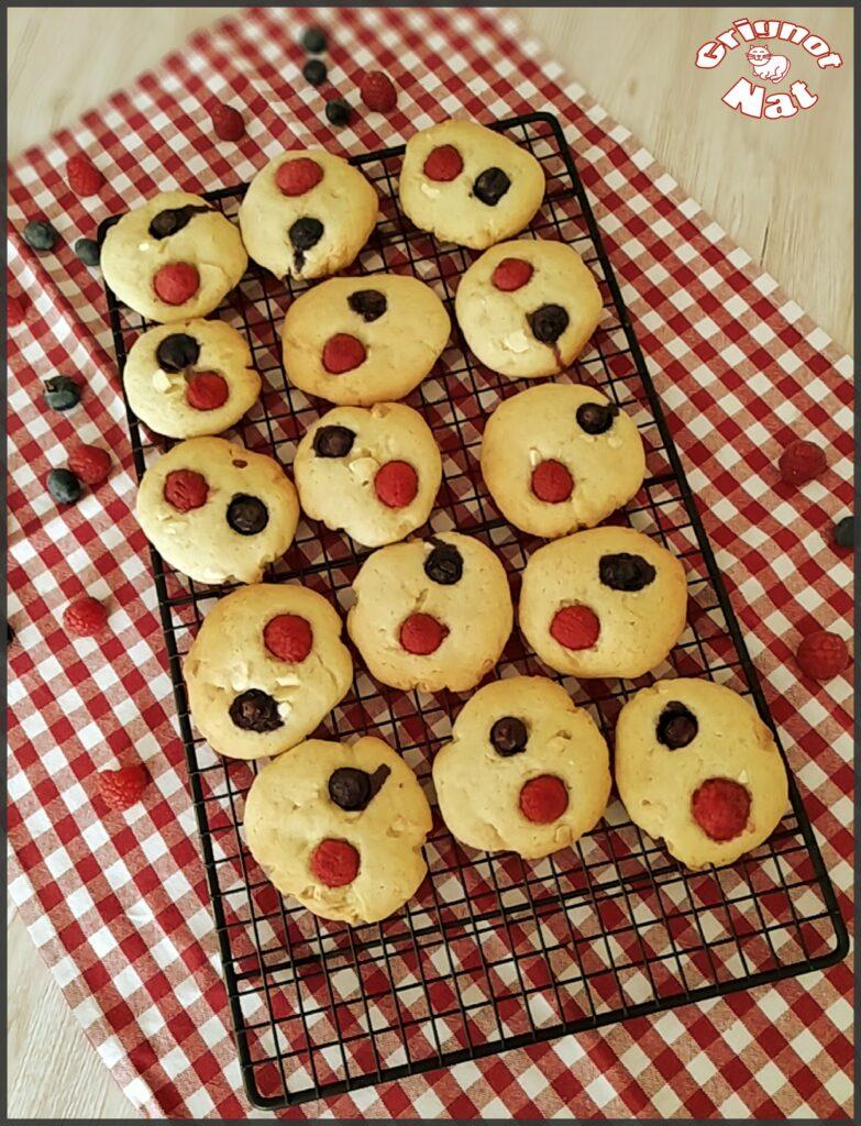cookies fruits rouges et chocolat blanc 3