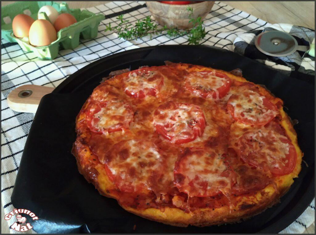 omelette pizza 2