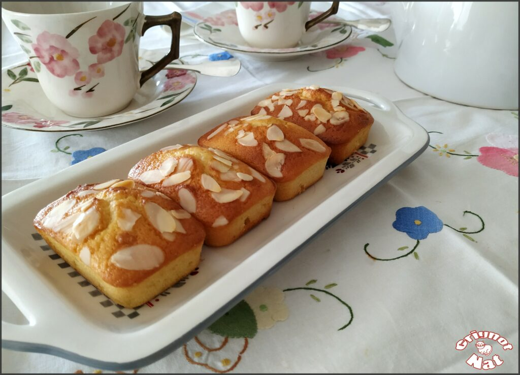 Mini cakes citron amande et miel 2