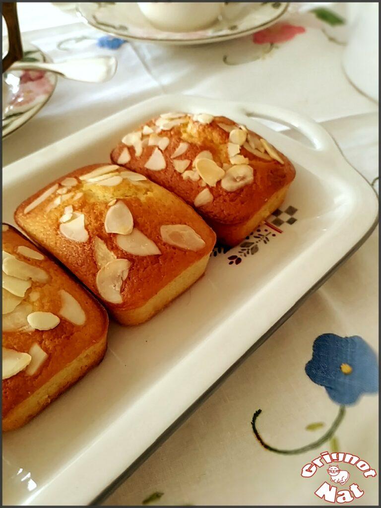 Mini cakes citron amande et miel 3