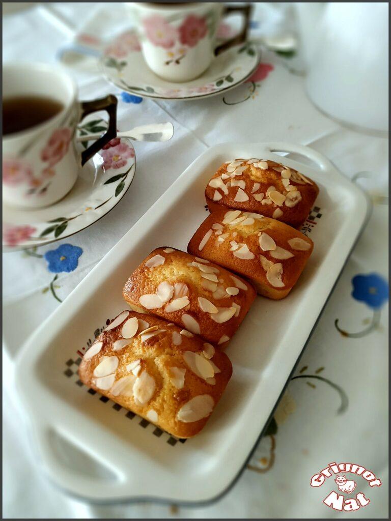 Mini cakes citron amande et miel