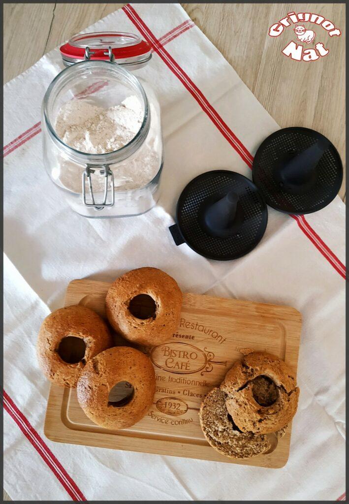 Bagels à la farine complète