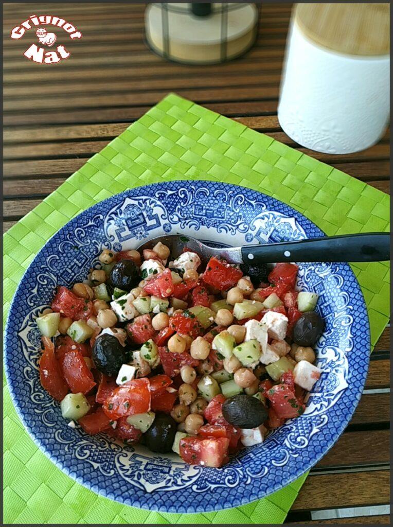 salade pois chiche concombre feta 2